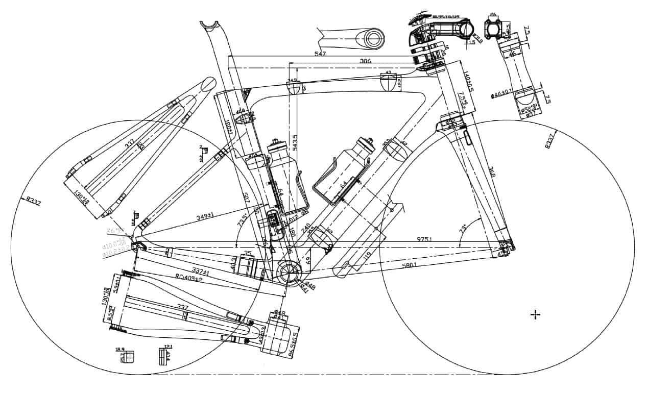 framemaat fiets berekenen